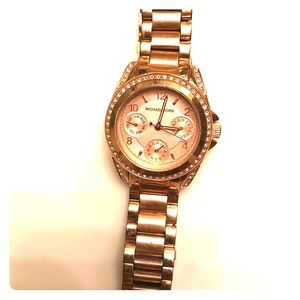 Michael kors rose gold Blair watch